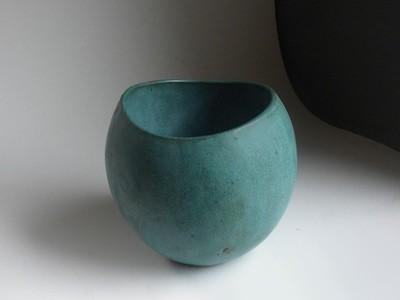 One of a Kind Prototype Vase in Verdigris by Weston Neil Andersen