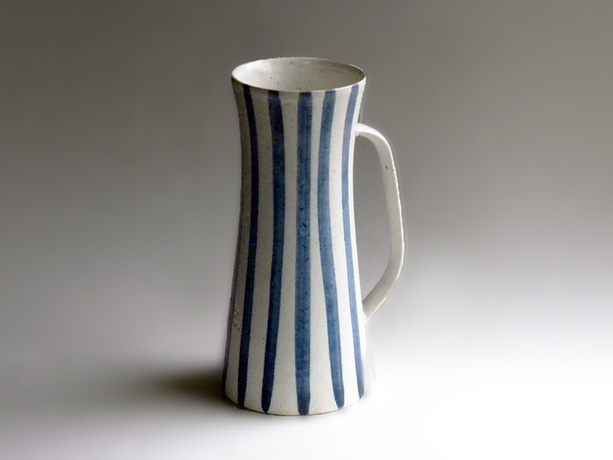 Original Prototype Blue & White Stein by Weston Neil Andersen