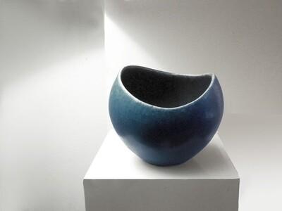 Rare Blue Vintage Sugar Bowl from Weston's Ohio Years