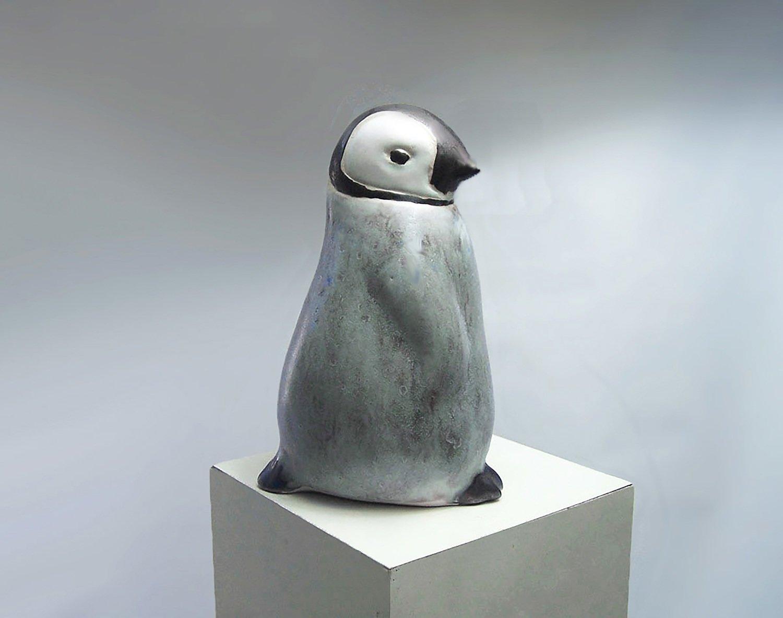Baby Penguin Sculpture