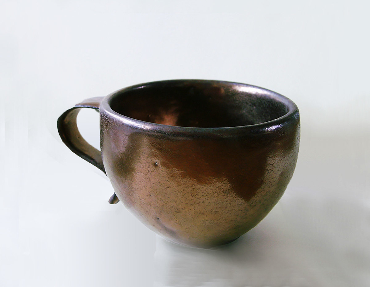 Teacup in Bronze