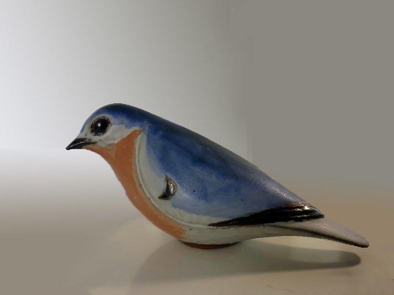 Bluebird, slender, Second Quality