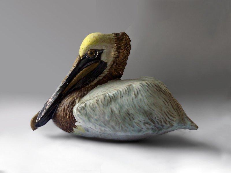 Nesting Pelican, Second Quality
