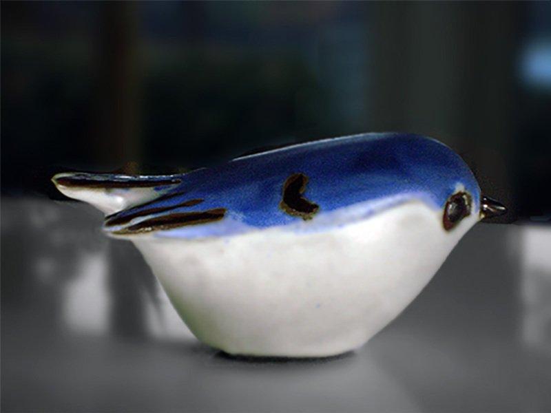 Kinglet, Blue, Second Quality