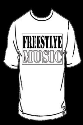 Freestyle Music T-Shirt Only (Includes Shipping)