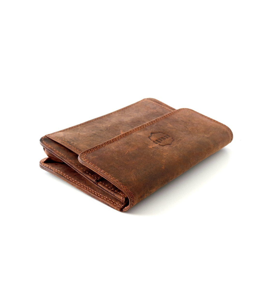 Porte-documents en Cuir de Vachette Vintage Huilé #CHV037