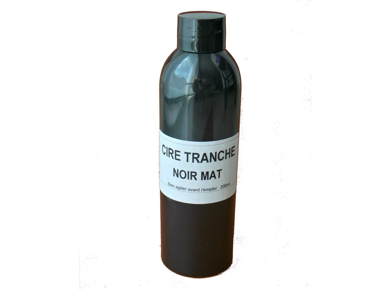 Flacon 200 ml - Cire Tranche Noir