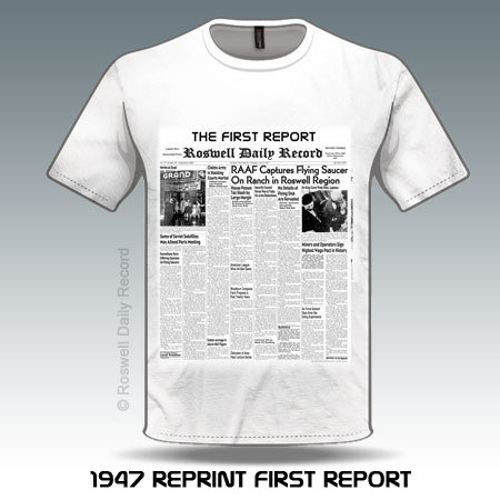RDR 1947 First Report Shirt