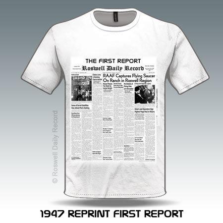 RDR 1947 First Report Shirt