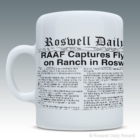 RDR 1947 Roswell Incident Mug