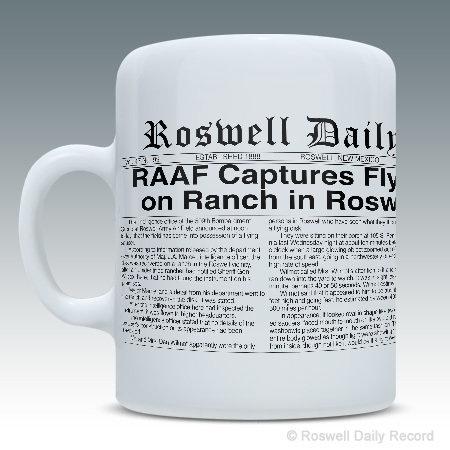 RDR 1947 Roswell Incident Mug
