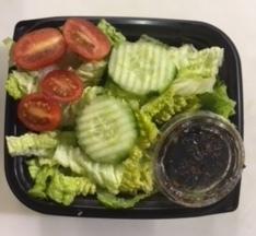 Veggie Lasagna with Tomat/Cucumber Green Salad