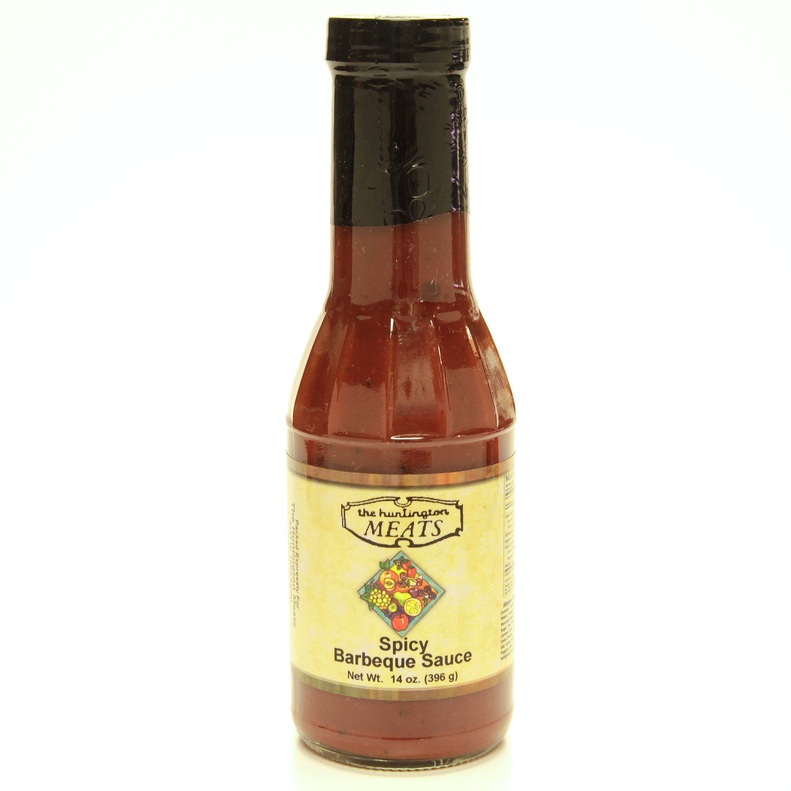 Spicy Barbeque Sauce, 14 oz. 00015