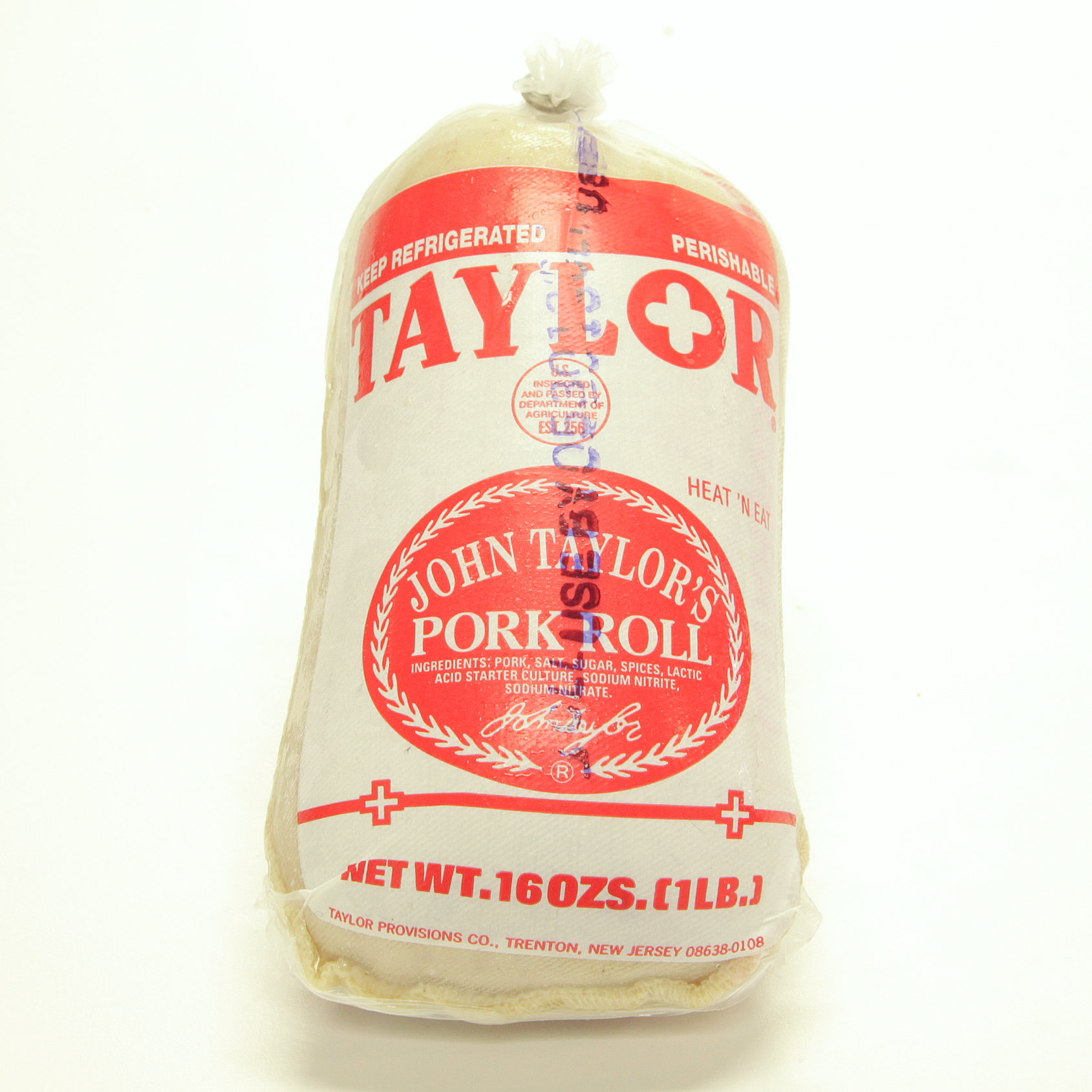 Taylor, Pork Roll, 1 lb. 00131