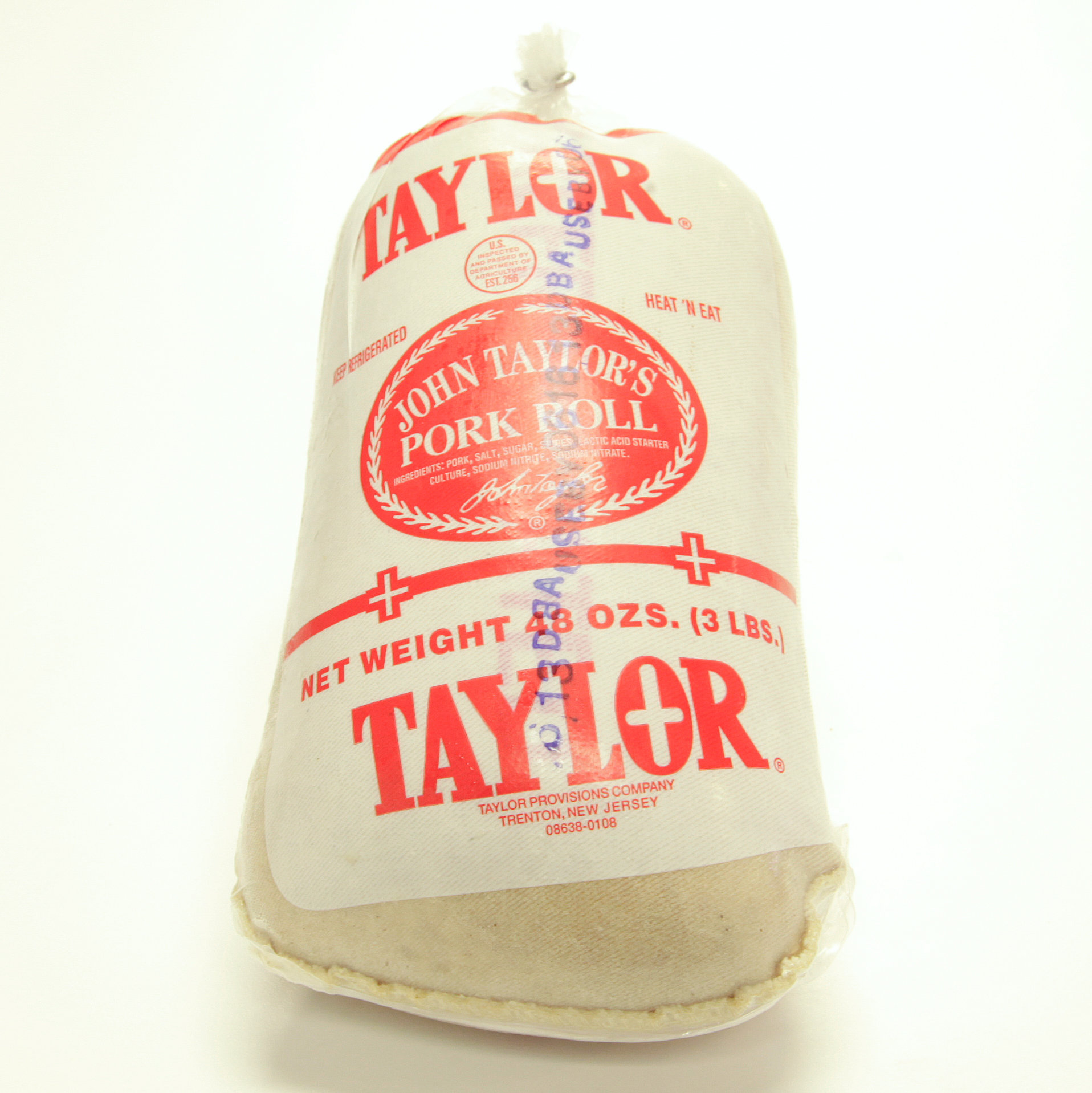 Taylor, Pork Roll, 3 lbs. 00132