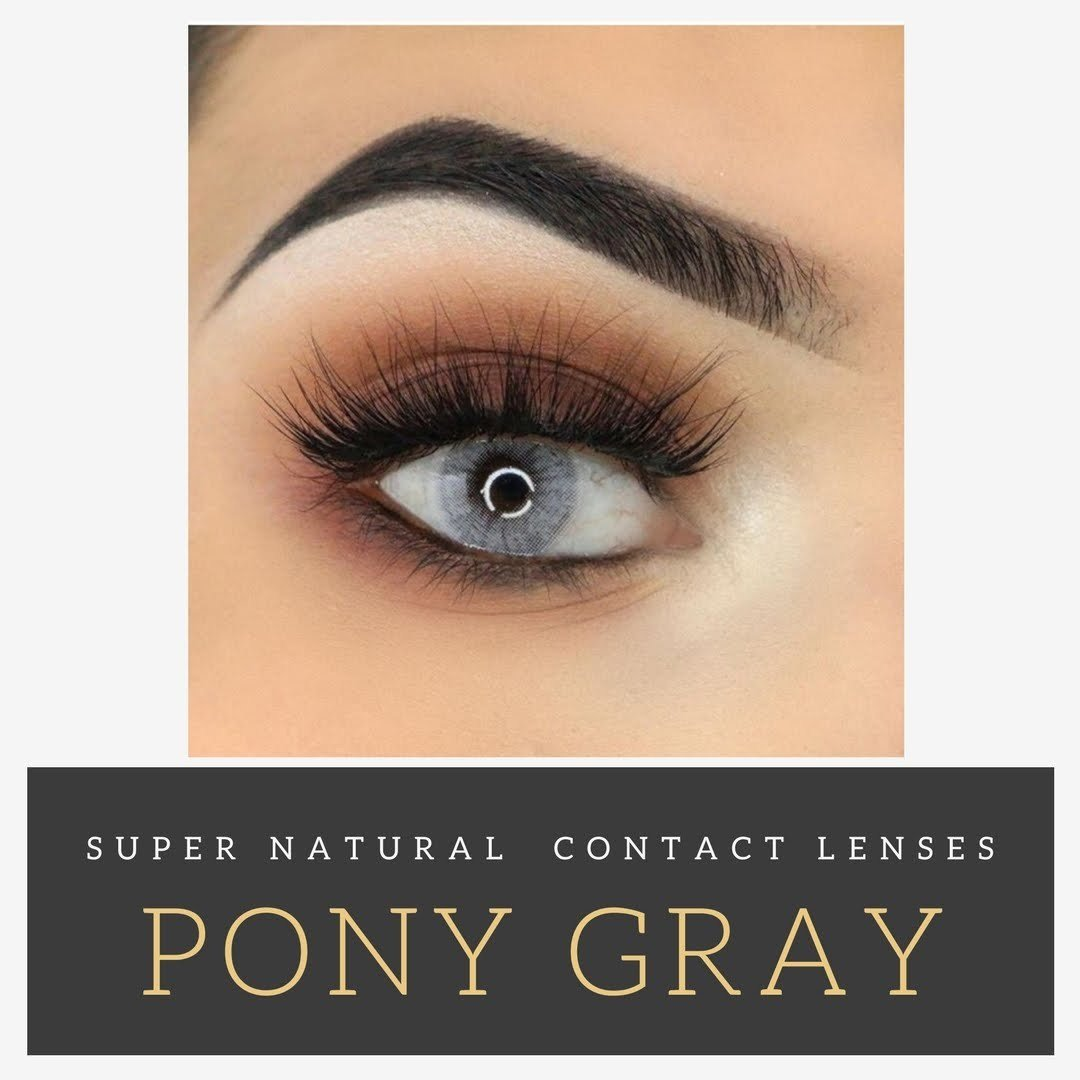 Super Natural Colored Contacts | 2 Lenses | Includes Case