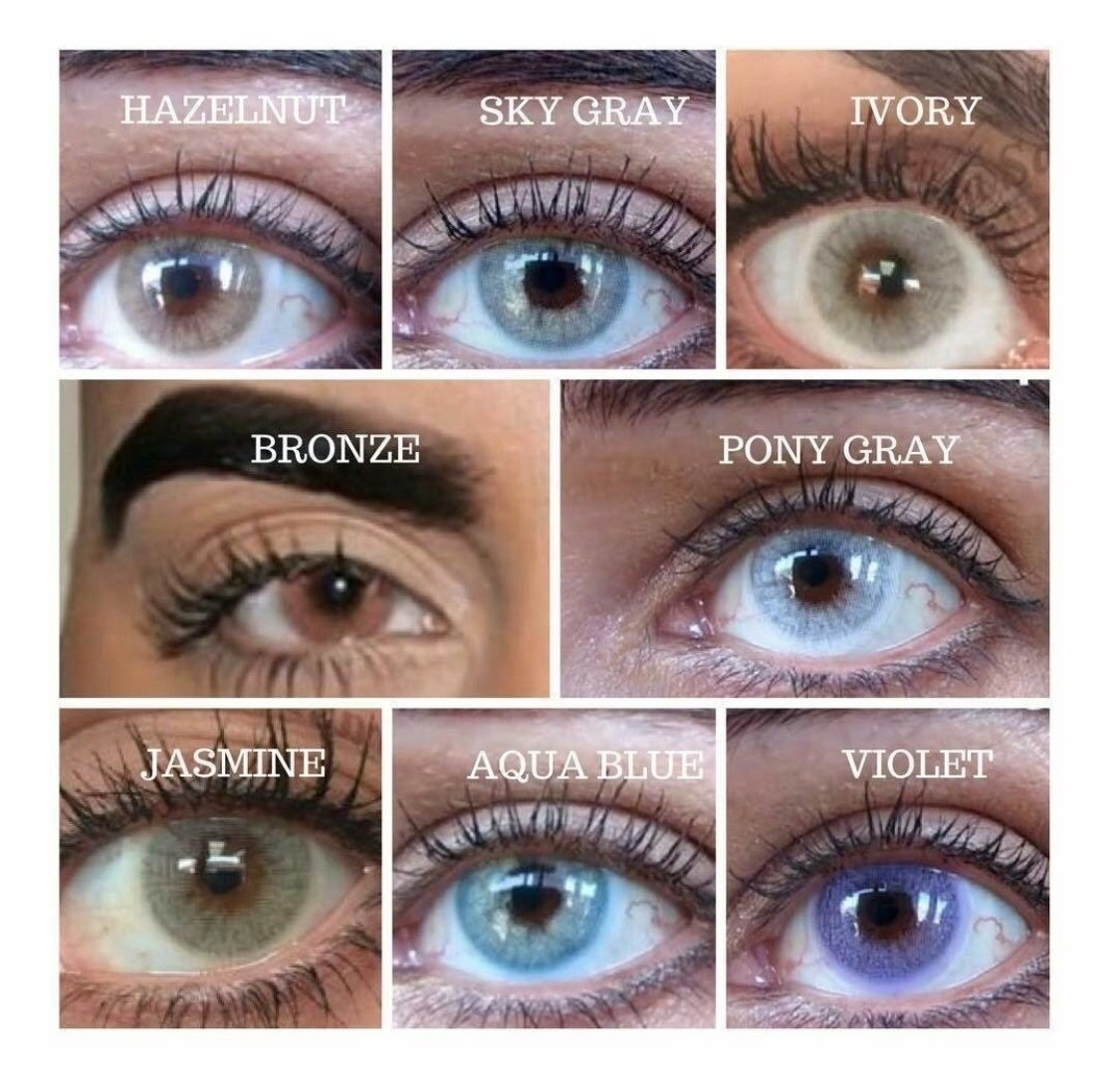 Non Prescription Colored Contacts >> Super Natural Colored Contacts 2 Lenses Includes Case