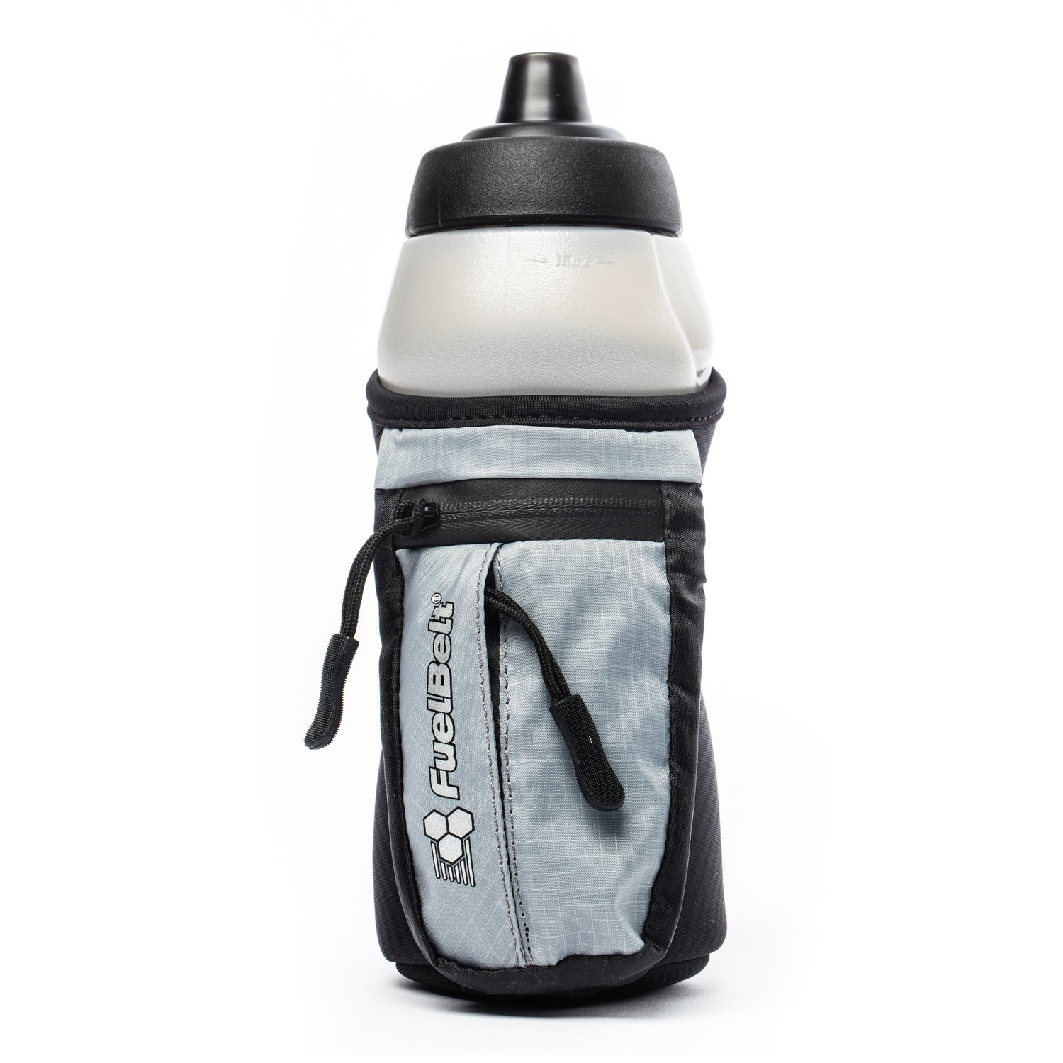 Enduro Fuel Hand-Held Running Water Bottle with Storage Pouch