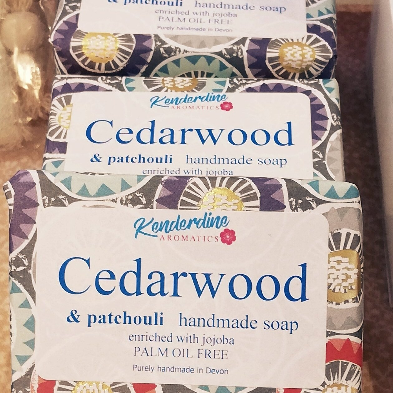 Soap - cedarwood and patchouli