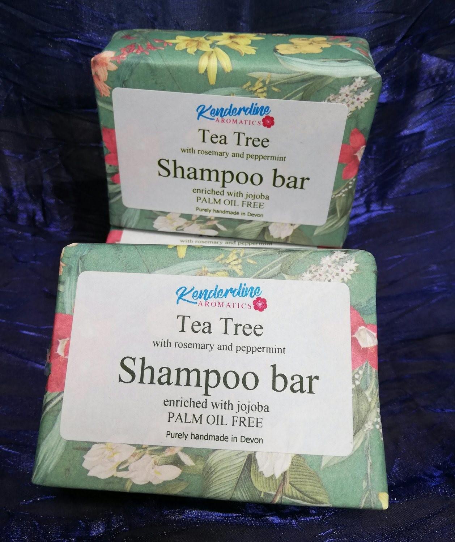 Shampoo bar - tea tree