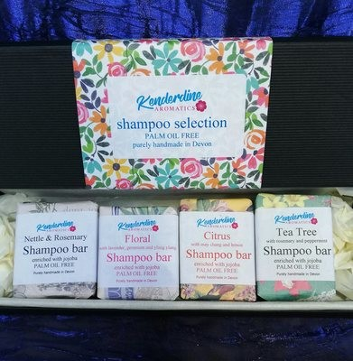 Mini shampoo bar selection box