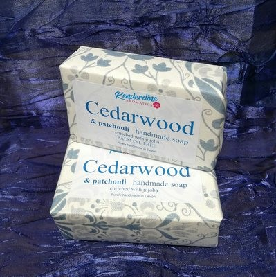 Soap - cedarwood and patchouli