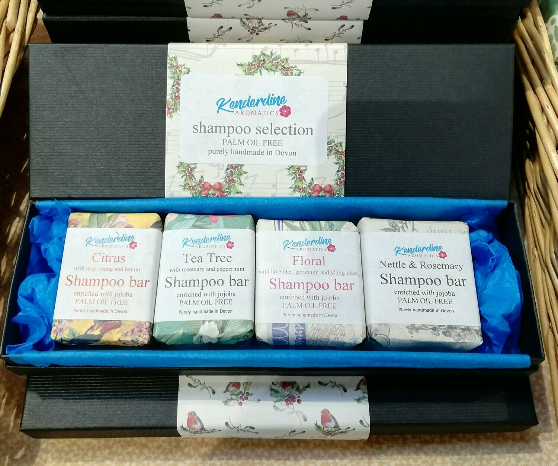 Mini shampoo bar selection box
