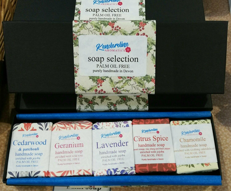Mini soap selection box