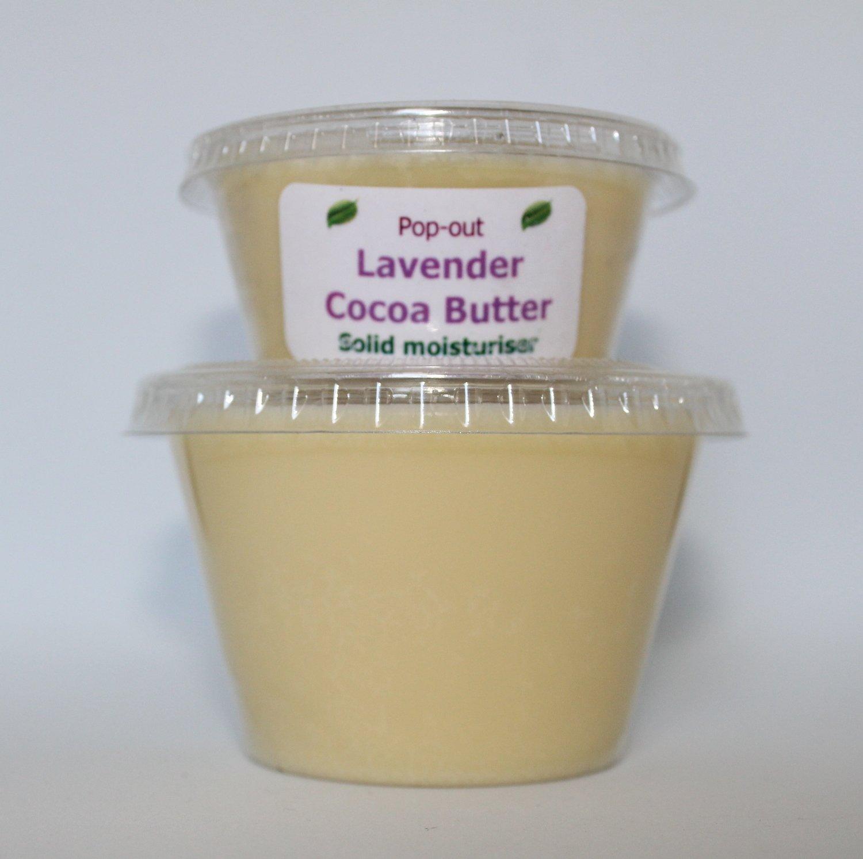 Cocoa butter solid moisturiser - Lavender