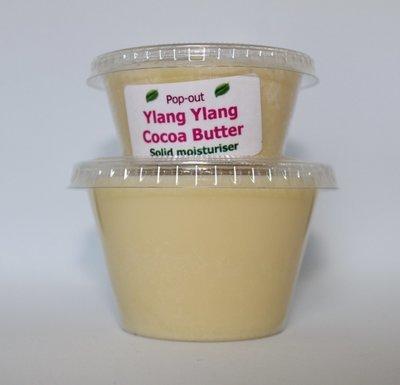 Cocoa Butter solid moisturiser - Ylang Ylang