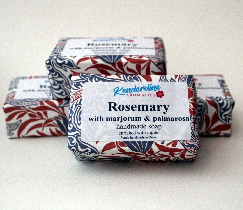 Soap - rosemary, marjoram and palmarosa