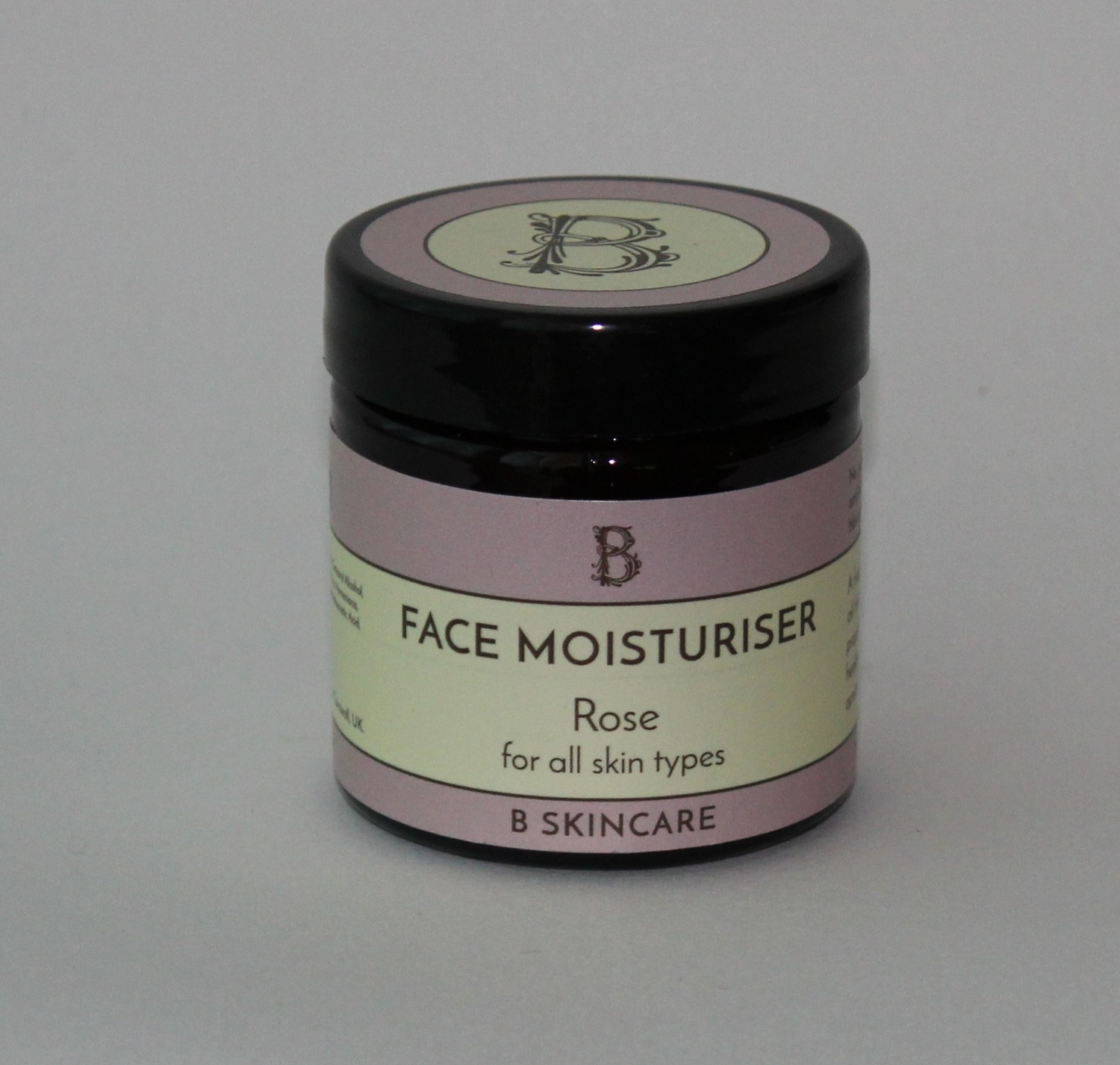 B Skincare Rose and honey moisturiser