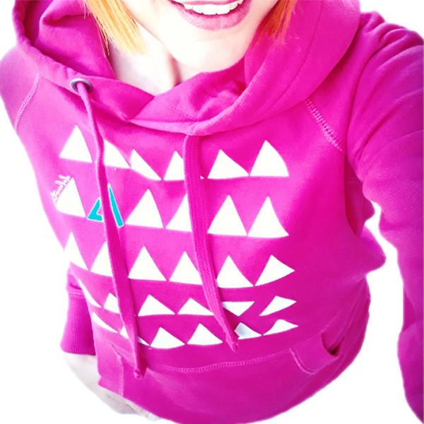 Pink Sport Hoodie woman