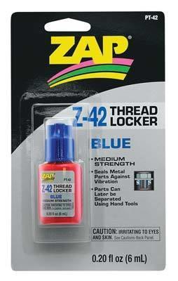 Zap Adhesives Thread Locker .20 oz