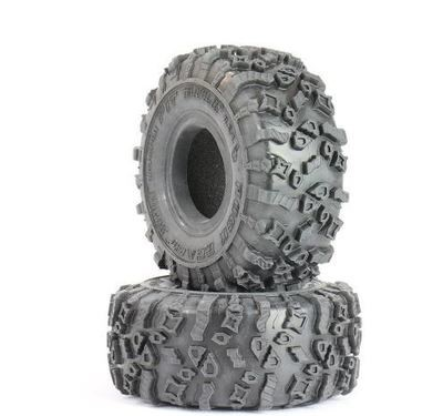 PITBULL ROCK BEAST (ORIGINAL) XOR 1.55 RC TIRES (ALIEN KOMPOUND) with FOAM - 2pcs