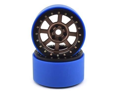 "SSD RC 2.2"" Wide Assassin PL Beadlock Wheels (Bronze) (2) (Pro-Line Tires)"