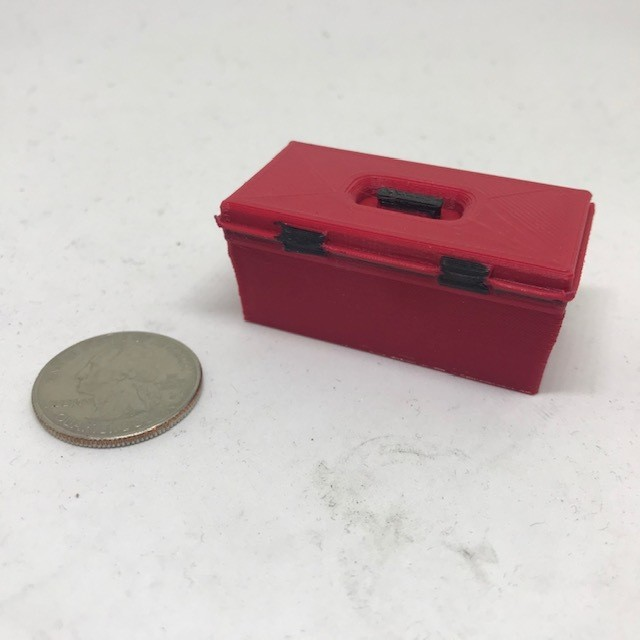 Scale tool box (Red)