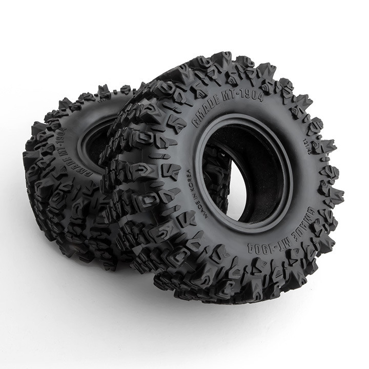 """Gmade MT1904 1.9"""" Off-Road Tires for Crawlers and Scale Rigs (1 pair)"""