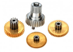 Traxxas  Gear set, metal (for 2080X micro waterproof servo)
