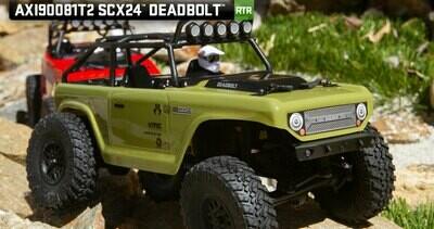 Axial 1/24 SCX24 Deadbolt RTR Scale Mini Crawler (Green)