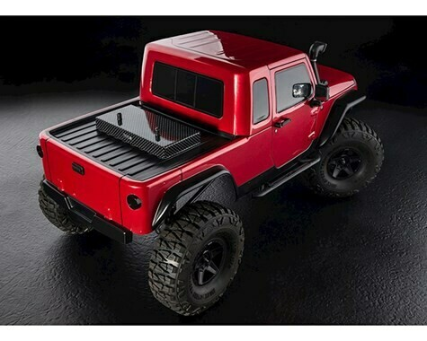 MST CFX-W High Performance Scale Rock Crawler Kit w/JP1 Body (313mm Wheelbase)