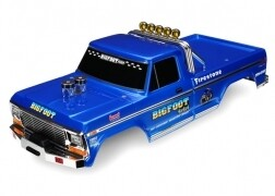 Traxxas Body, Bigfoot® No. 1, Officially Licensed replica (painted, decals applied)