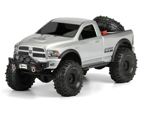 Pro-Line Ram 1500 Clear Body 1/10 Scale Crawlers