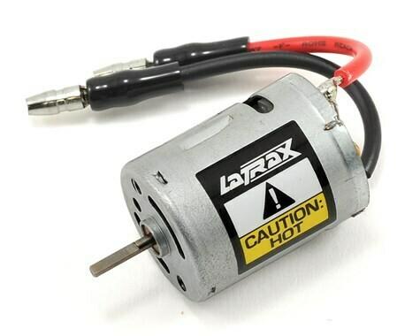 Traxxas LaTrax 370 Motor w/Bullet Connectors. 28 turn
