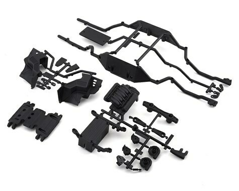Axial Wraith 1.9 Lower Rail/Skid Plate/Battery Tray