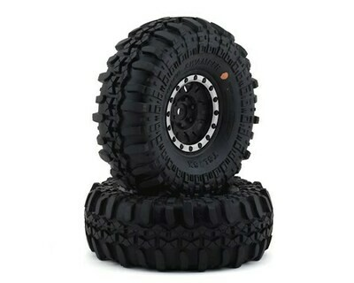 Pro-Line Interco Super Swamper 1.9 Tires w/Impulse Wheels (Black/Silver) (2) (G8)
