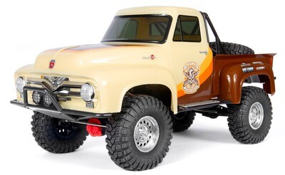 Axial SCX10 II 1955 Ford 1/10 RTR 4WD Rock Crawler (Brown)