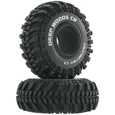 "Duratrax Deep Woods CR 2.2"" Crawler Tire C3 (2)"