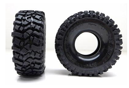 PIT BULL TIRES 2.2 ROCK BEAST II SCALE RC TIRES // KOMP KOMPOUND // NO FOAM (2)