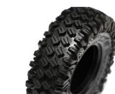 Boom Racing HUSTLER M/T Xtreme 1.9 MC1 Rock Crawling Tires 4.19x1.46 SNAIL SLIME™ Compound W/ 2-Stage Foams (Super Soft) (2)